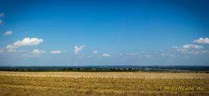 Panorama schw. Alb mit AKW Gundremmingen