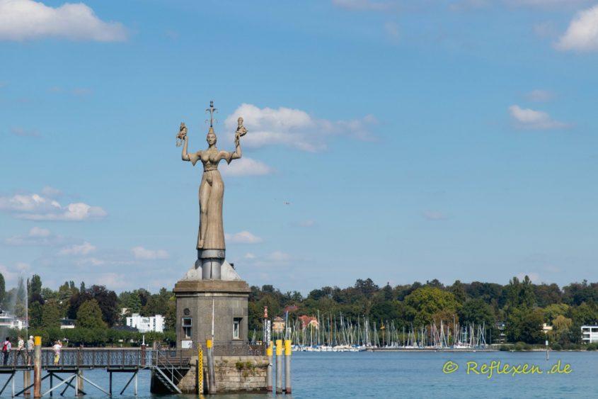 Statue Imperia im Bodensee