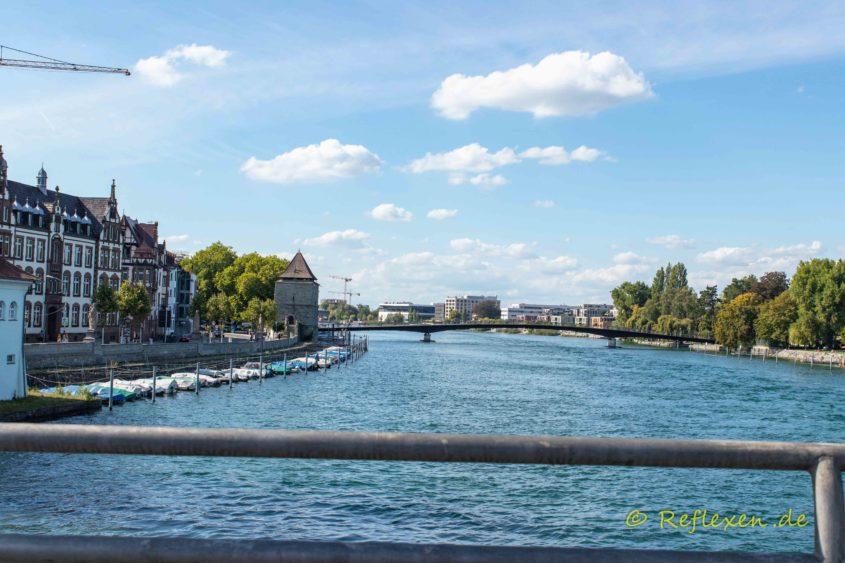 Bodensee trennt Konstanz